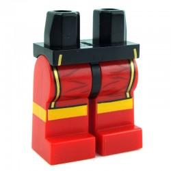 Lego Minifig Jambes - pantalon (rouge) (La Petite Brique)