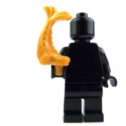Lego Accessoires Minifig Poisson ornemental (Pearl Gold) La Petite Brique
