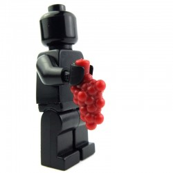 Lego Custom BRICK WARRIORS grappe de raisin (Rouge foncé) La Petite Brique