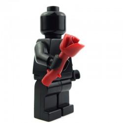Lego Custom BRICK WARRIORS Rose empoisonnée (Rouge foncé) La Petite Brique