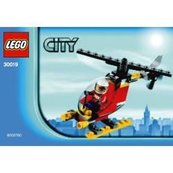 Lego Polybag CITY 30019 Fire Helicopter (La Petite Brique)