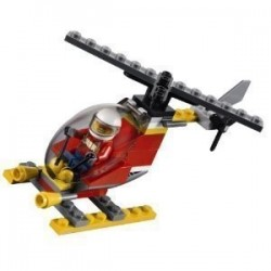 Lego Polybag CITY 30019 Fire Helicopter (La Petite Brique)