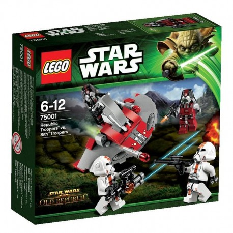 Lego Star Wars 75001- Republic Troopers Vs Sith Troopers (La Petite Brique)
