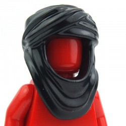 Black Minifig, Headgear Keffiyeh