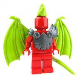 Lego Custom BRICK WARRIORS Armure Demon (steel) La Petite Brique
