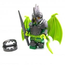 Lego Custom BRICK WARRIORS Casque Demon (steel) La Petite Brique