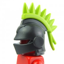 Lego Custom BRICK WARRIORS Plume casque de Joute (Lime Green) La Petite Brique