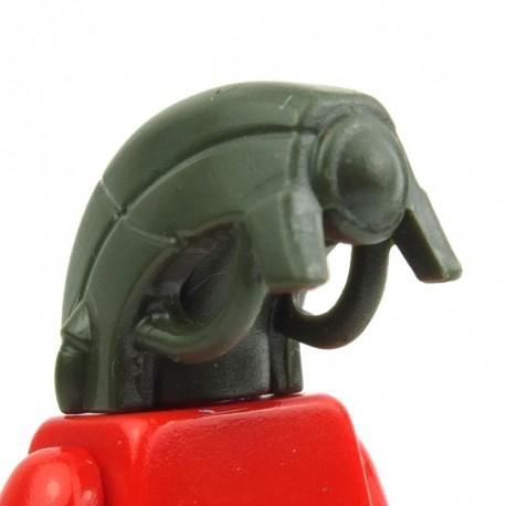 Lego Custom BRICK WARRIORS Tête Android (Army Green) La Petite Brique