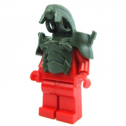Lego Custom BRICK WARRIORS Tête Android (Army Green) La Petite Brique