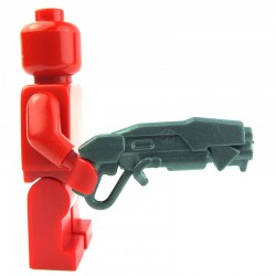 Lego Custom BRICK WARRIORS Grinder Shotgun (steel) La Petite Brique