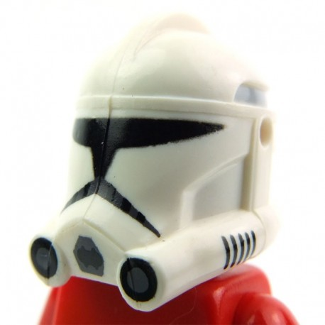 Lego Clone Army Customs Casque Clone Phase 2 Rex Trooper (La Petite Brique) SW