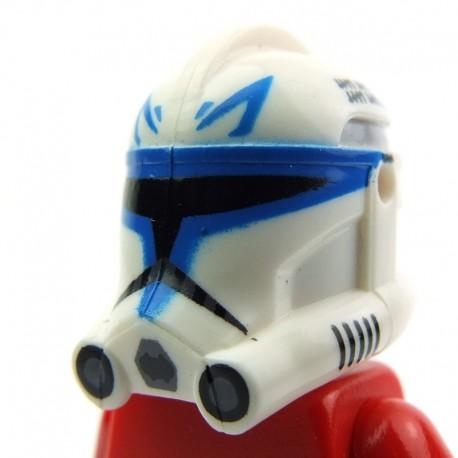 Custom Lego SHOCK Blue Clone Trooper Minifigure CAC Full Body Printing