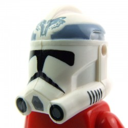 Lego Clone Army Customs Casque Clone Phase 2 104th Wolfpack Trooper (sand blue) (La Petite Brique) SW