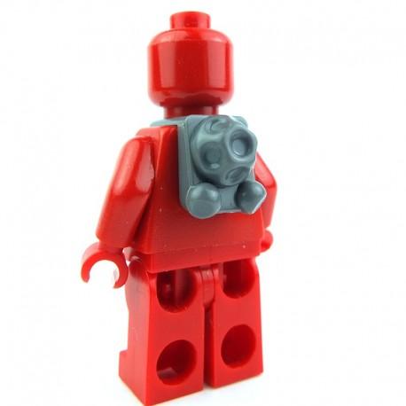Lego Clone Army Customs Scuba Back Pack (Dark Bluish Gray) (La Petite Brique) SW