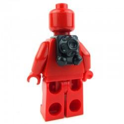 Lego Clone Army Customs Scuba Back Pack (noir) (La Petite Brique) SW