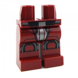 Lego Accessoires Minifig - Jambes - Sith Trooper (Dark Red - Star Wars) La Petite Brique