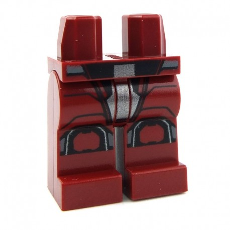 Lego Accessoires Minifig - Jambes - Sith Trooper (Dark Red - Star Wars) La Petite Brique