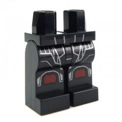 Lego Accessoires Minifig - Jambes - Sith Trooper (Noir - Star Wars) La Petite Brique