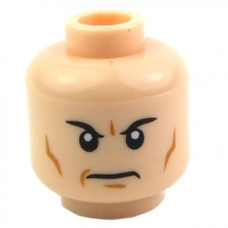 Lego Accessoires Minifig Tête masculine, chair, 04 (La Petite Brique)