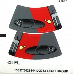 Lego Autocollant Sith Speeder (La Petite Brique) Star Wars