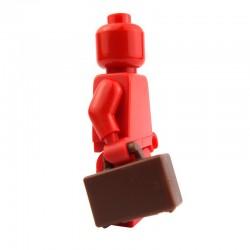 Lego Accessoires Minifig Valise (Reddish Brown) La Petite Brique