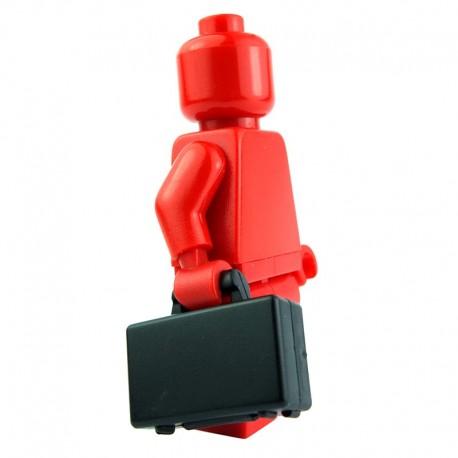 Lego Accessoires Minifig Valise (noir) La Petite Brique