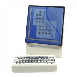 Lego Accessoires Minifig Ordinateur (écran + clavier) La Petite Brique