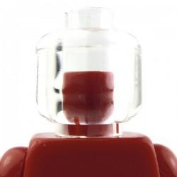 Lego Accessoires Minifig Tête transparente (La Petite Brique)