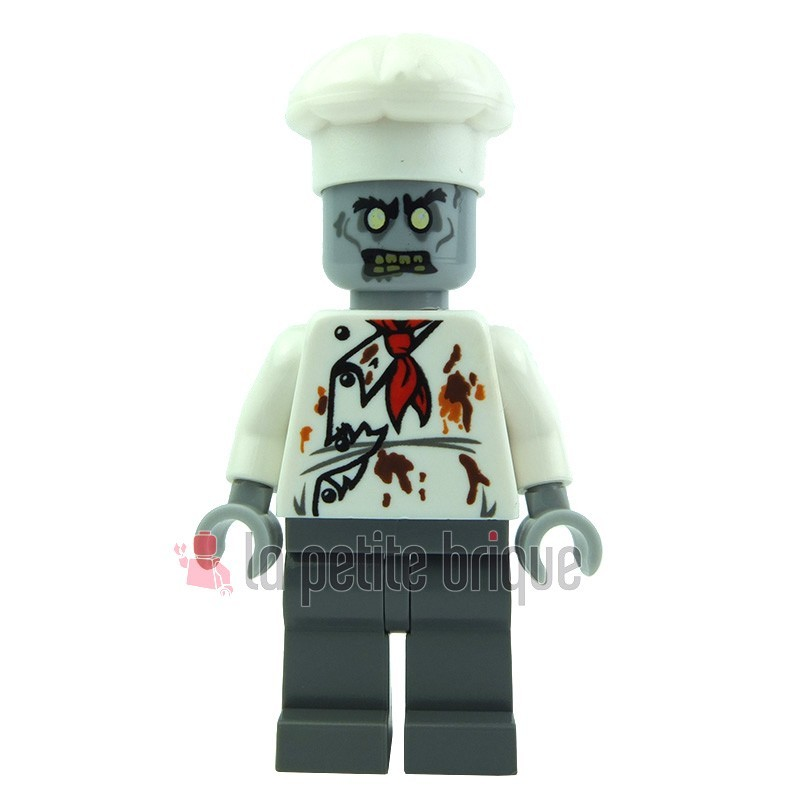 Lego minifig monster fighters zombie cuisinier la petite for Cuisinier zombie