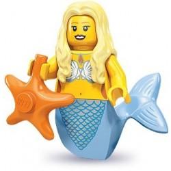 LEGO Minifigures Serie 9 - la sirène - 71000 (La Petite Brique, le spécialiste de la minfig)