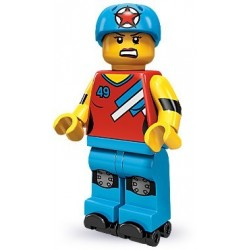 LEGO Minifigures Serie 9 - la patineuse en roller - 71000 (La Petite Brique, le spécialiste de la minfig)