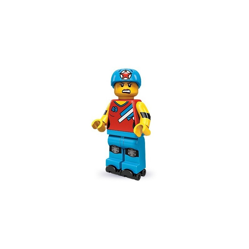 LEGO MINIFIGURES SERIES 9 71000 Roller Derby Girl NEW