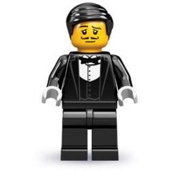 LEGO Minifigures Serie 9 - le serveur - 71000 (La Petite Brique, le spécialiste de la minfig)