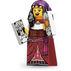 LEGO Minifigures Serie 9 - la voyante - 71000 (La Petite Brique, le spécialiste de la minfig)