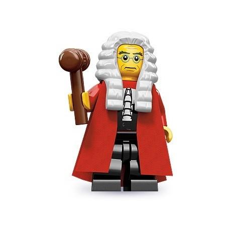 LEGO Minifigures Serie 9 - le juge - 71000 (La Petite Brique, le spécialiste de la minfig)