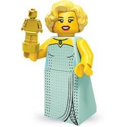 LEGO Minifigures Serie 9 - la starlette d'Hollywood - 71000 (La Petite Brique, le spécialiste de la minfig)
