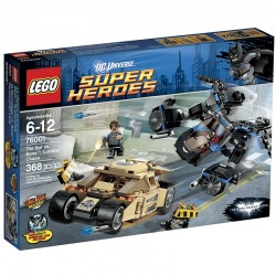 Lego Super Heroes 76001 - Batman vs. Bane : la course poursuite (La Petite Brique)