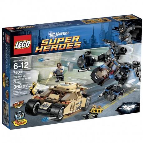 Lego Super Heroes 76001 - Batman vs. Bane : la course poursuite (La Petite Brique)