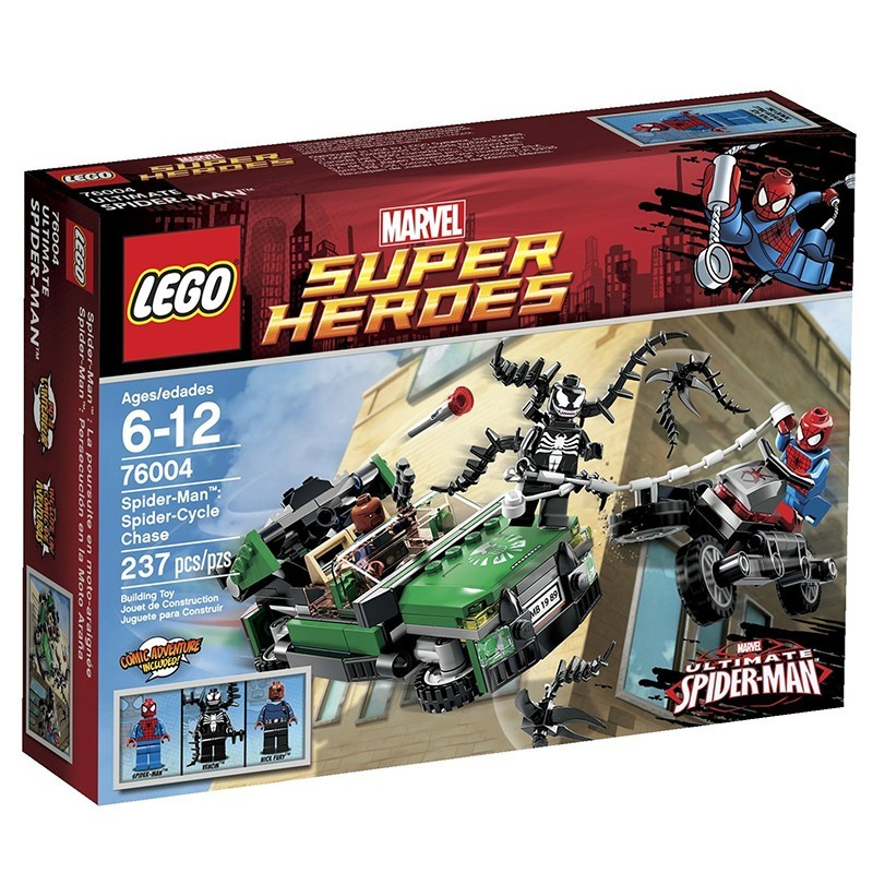 LEGO Accessories Spider of 6 New