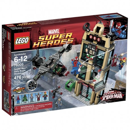 76005 - Spider-Man: Daily Bugle Showdown