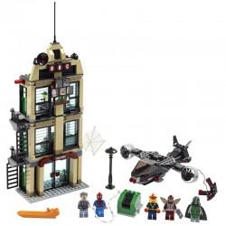 Lego MARVEL 76005 - Spider-Man : L'attaque du Daily Bugle (La Petite Brique)