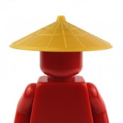 Lego Accessoires Minifig - Chapeau chinois (Pearl Gold) La Petite Brique