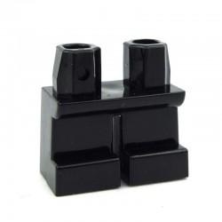 Lego Accessoires Minifig - Jambes courtes (noir) La Petite Brique