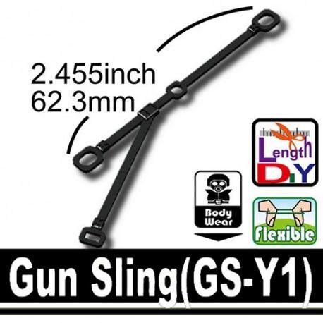 Lego Custom Si-Dan Toys Gun Sling (GS-Y1) (noir) (La Petite Brique)