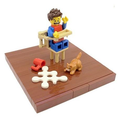 Lego Custom BrickForge Eclaboussure, Liquide (blanc) La Petite Brique