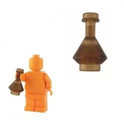 Lego Custom BrickForge Fiole (marron transparent) La Petite Brique