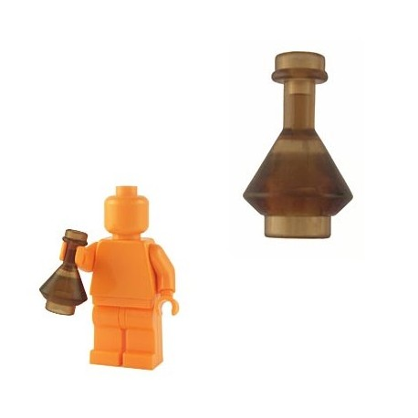 Lego Custom BrickForge Fiole (marron transparent) La Petite Brique