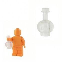 Lego Custom BrickForge Bouteille potion vide (transparent) La Petite Brique