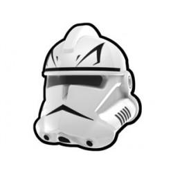 Lego Minifig Custom AREALIGHT Casque White Trooper Force (La Petite Brique) Star Wars