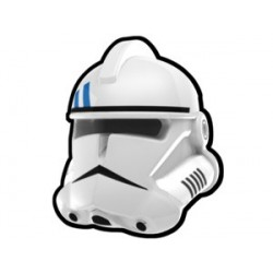 Lego Minifig Custom AREALIGHT Casque White Trooper Security (La Petite Brique) Star Wars